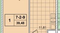 $86500 / Бойчука 17, Киев, Киев / Продажа / Квартира / 40 кв.м. / 1 комнат
