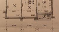 $152000 / Бульварно-Кудрявская 15, Киев, Киев / Продажа / Квартира / 68 кв.м. / 3 комнат
